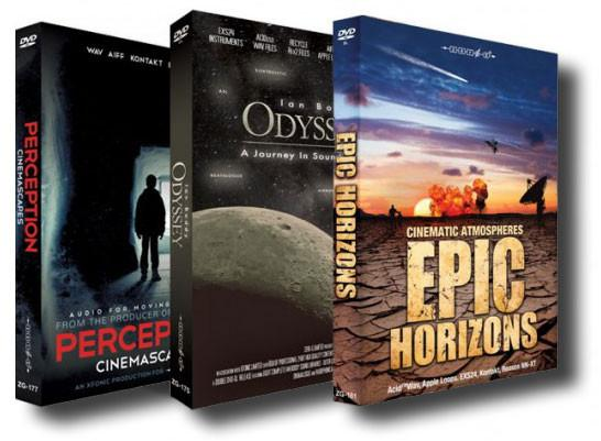 Sound Design Cinematic Bundle: Perception + Odyssey + Epic Horizons