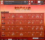DRONAR World Flutes Module