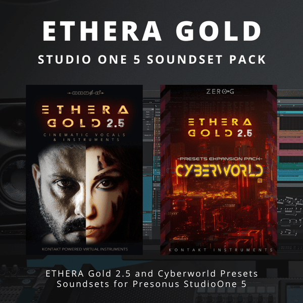 ETHERA Gold - StudioOne Soundset Pack