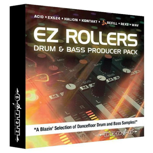 Confezione EZ Rollers Drum & Bass Producer Pack