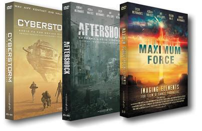 Epic FX Bundle: Cyberstorm + Aftershock + Maximum Force