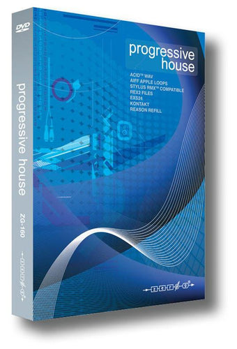 Progressive House (WAV ACID EXS24 Kontakt REX RMX Reason Refill Apple Loops)