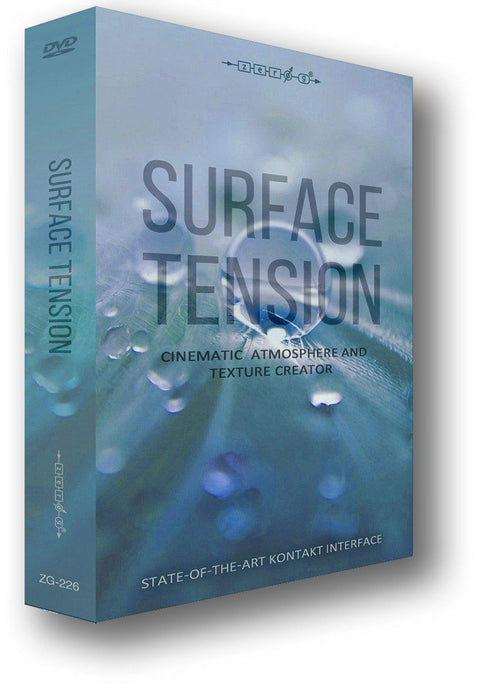 Surface Tension (Kontakt Instrument plus ACIDized WAV files and Apple Loops)