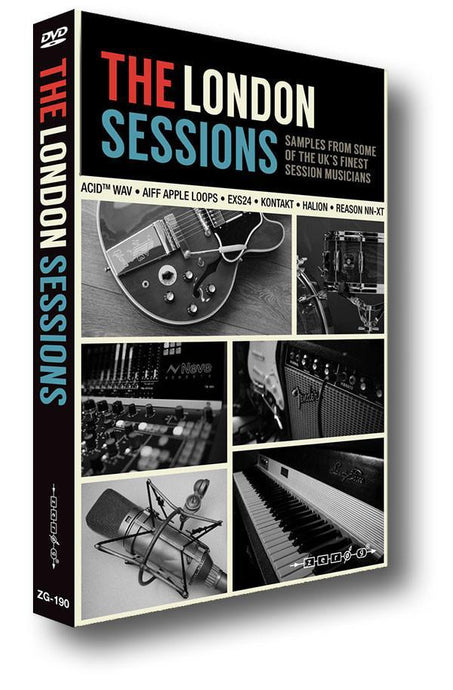 The London Sessions (WAV ACID Kontakt EXS24 HALion Reason NN-XT Apple Loops)