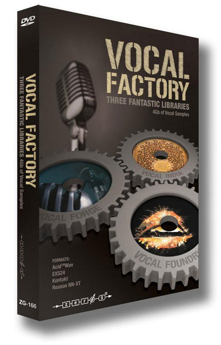 Vocal Factory (WAV ACID Kontakt EXS24 Reason NNXT)
