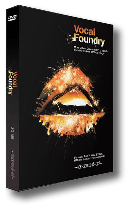 Vocal Foundry (WAV ACID Kontakt EXS24 HALion Reason NNXT)