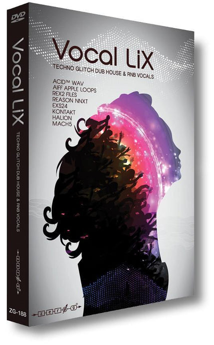 Vocal Lix (WAV ACID Kontakt EXS24 REX Reason NN-XT Apple Loops HALion Mach 5)