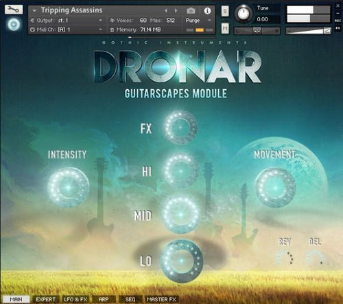 DRONAR Guitarscapes Module