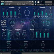 FORMATION - Formant Sound Creator (Kontakt instrument)