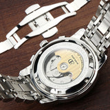 Mechanical Watch Tourbillon Designer Watches Top Quality Sapphire Glass Watch with Date Day Full Steel Watch for Men