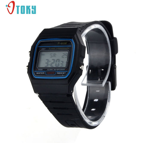 LED Electronic Digital Silicone Men Women Kids Watches Casual Style