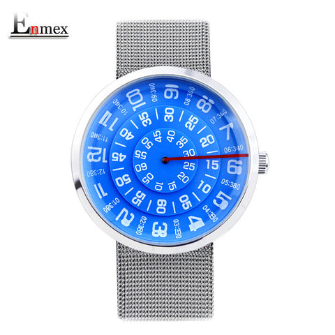 Design wristwatch digital era  waterproof creative simple design fashion quartz unisex watches