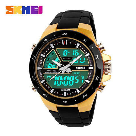 Men Sports Watches Digital Quartz Women Fashion Dress Wristwatches LED Dive Military Watch relogio masculino
