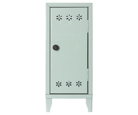 Locker w. 3 hangers, Green