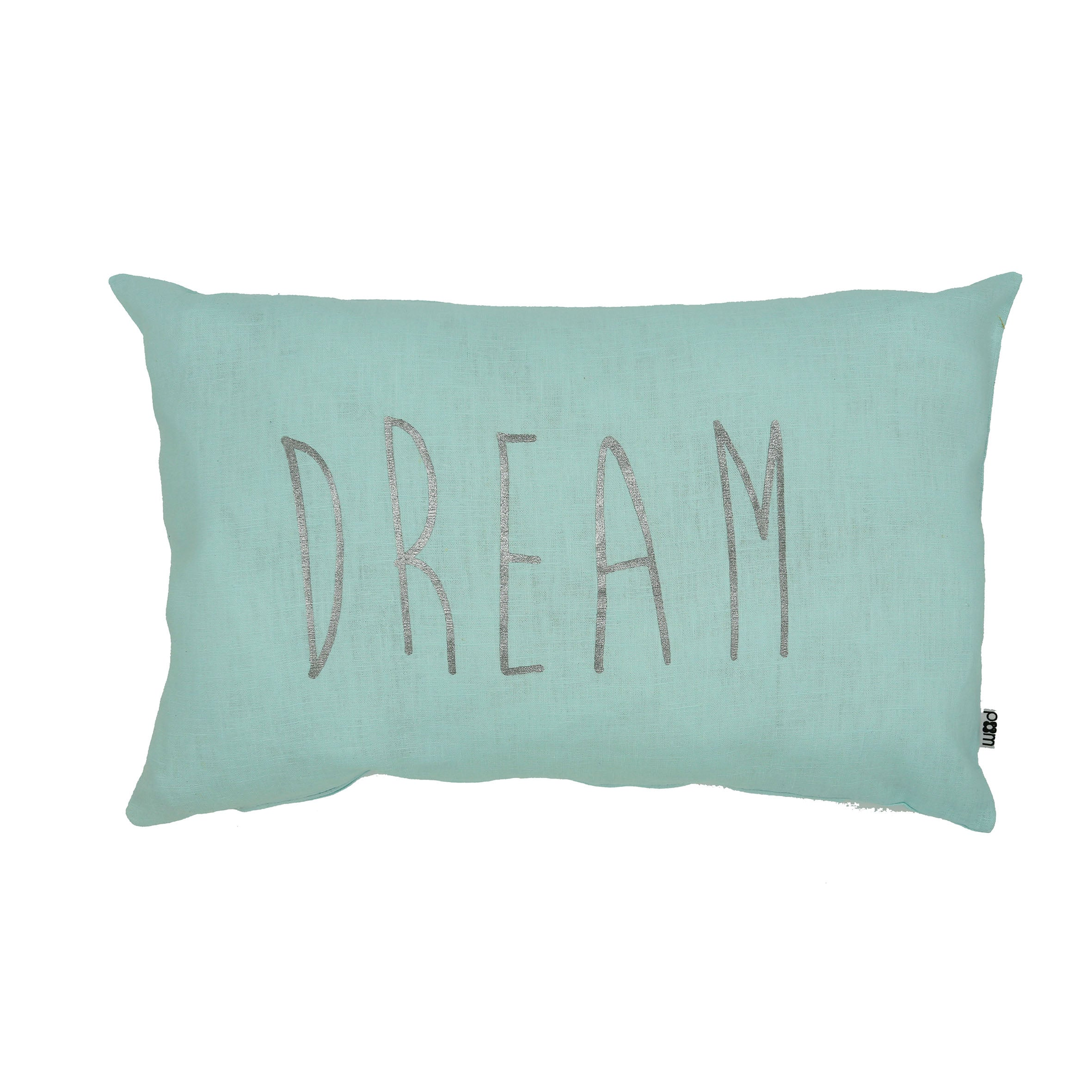 Handmade Cushion (Dream) - Mint