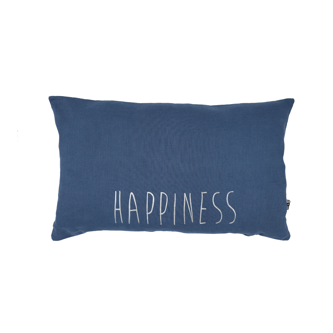 Handmade Cushion (Happiness) - Blue