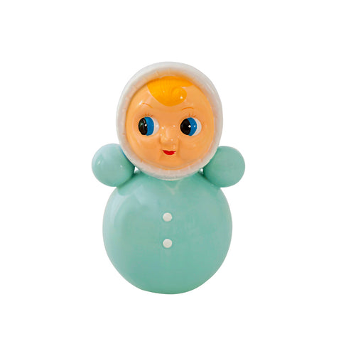 Money Bank Doll Ceramic Mint
