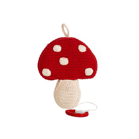 Mushroom Music Box (Red)