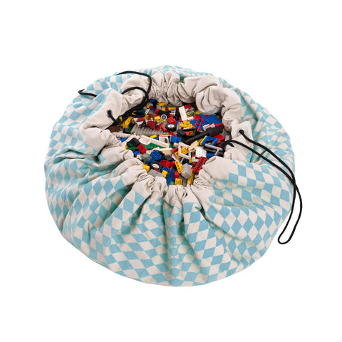 DIAMOND-BLUE Toy Storage Bag