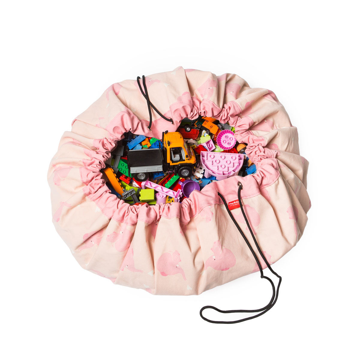 PINK ELEPHANT Toy Storage Bag