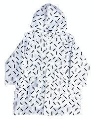 Geometry Rain Coat (Stick)