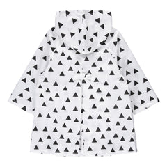 Geometry Rain Coat (Triangle)