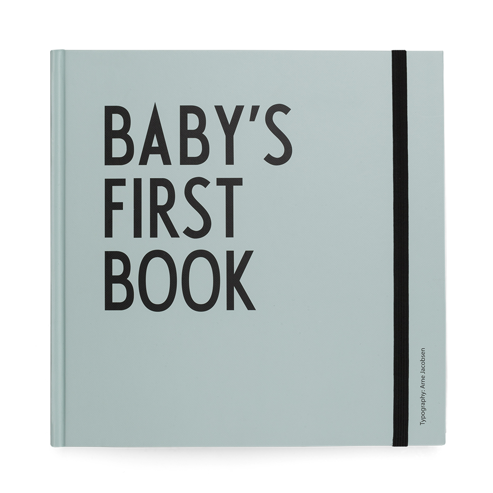 Baby's first book - Turquoise