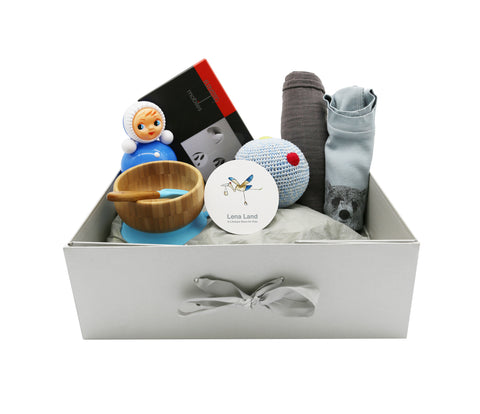Hamper for Baby Boy - 6 items set