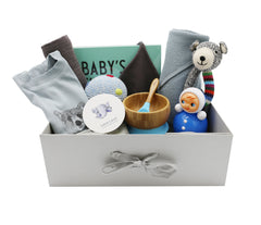 Hamper for Baby Boy - 9 items set