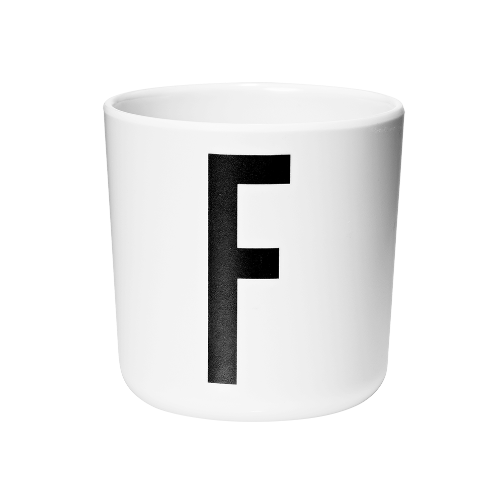 Personal melamine cup -  F