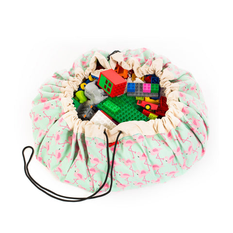 FLAMINGO Toy Storage Bag
