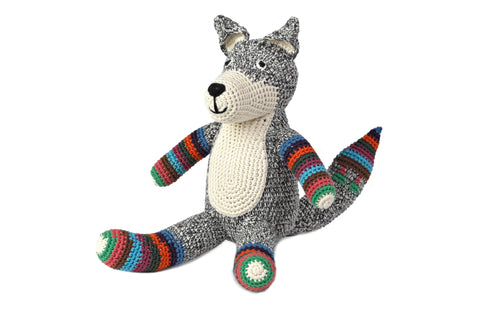 Fox (Grey with stripe)