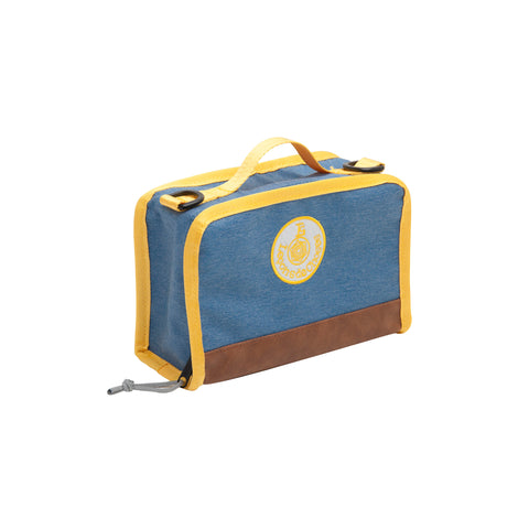 Lunch Box Vintage Blue