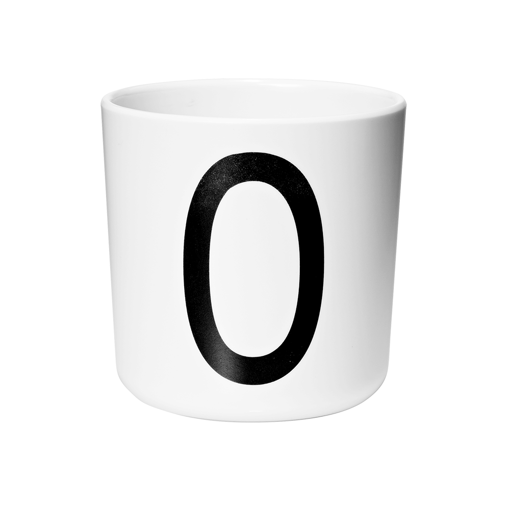 Personal melamine cup -  O