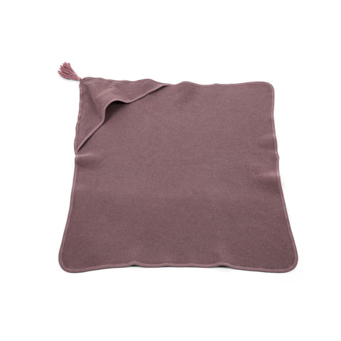 Honeycomb Children Hooded Towel - Dusty Pink