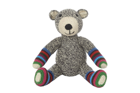 Teddy (Grey with stripe)