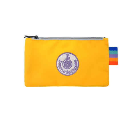 Pencil Case - Yellow and Purple