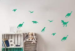 Wall Stickers - Dinosaurs (Green)