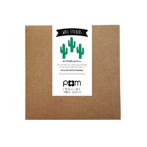Wall Stickers - Cactus (Green)