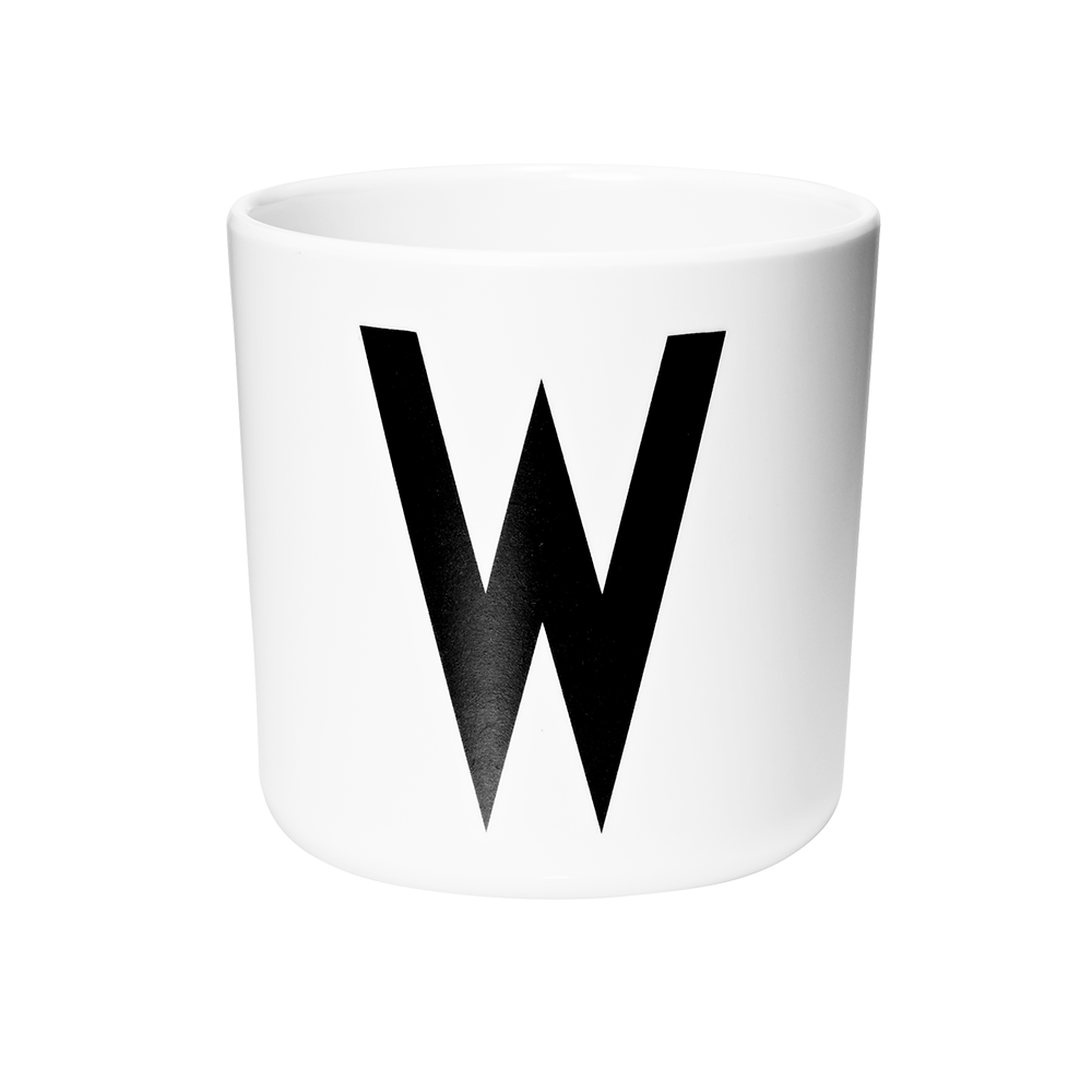 Personal melamine cup -  W