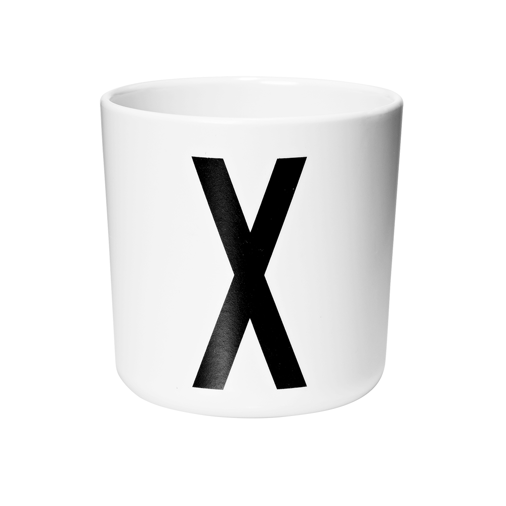 Personal melamine cup -  X