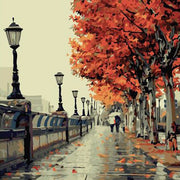 Autumn Walk - Paint By Number Kit