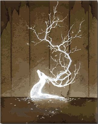 Lightning Deer - Paint By Number Kit