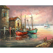 Fishing Cove - Paint by Number kit
