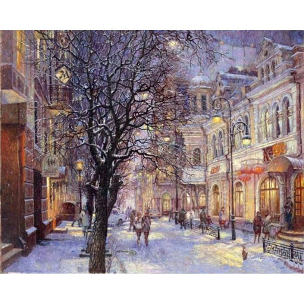 Winter Calm - Paint by Number kit