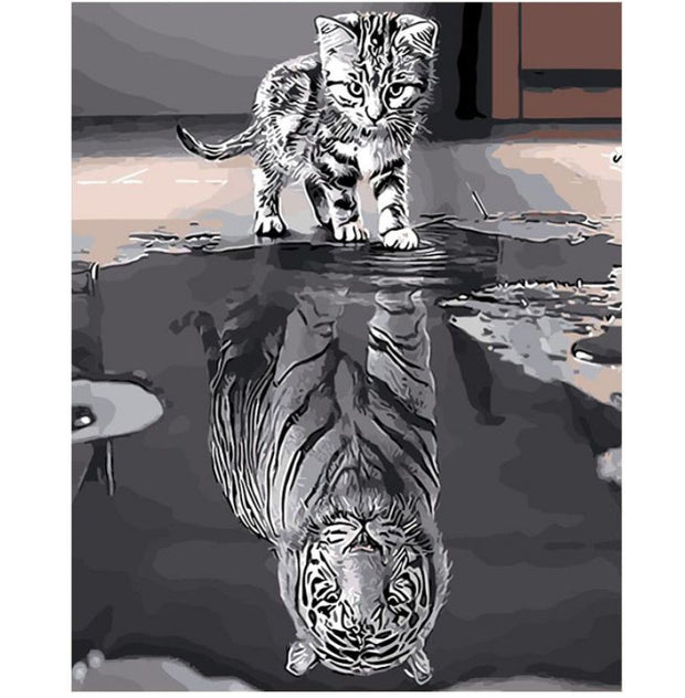 Tiger Dreams - Paint by Number kit