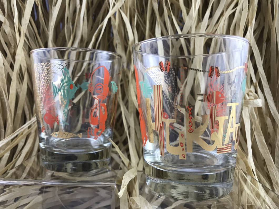 Mai Tai Glass for The Hukilau designed by Kevin Kidney