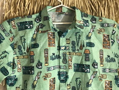The Hukilau 2017 Aloha Shirt designed by Tiki Tony