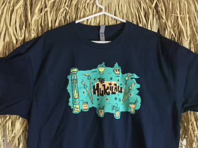 The Hukilau 2017 T Shirt by Tiki Tony