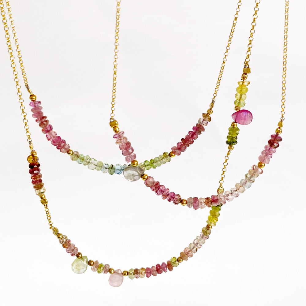 Ariu Tourmaline Necklaces